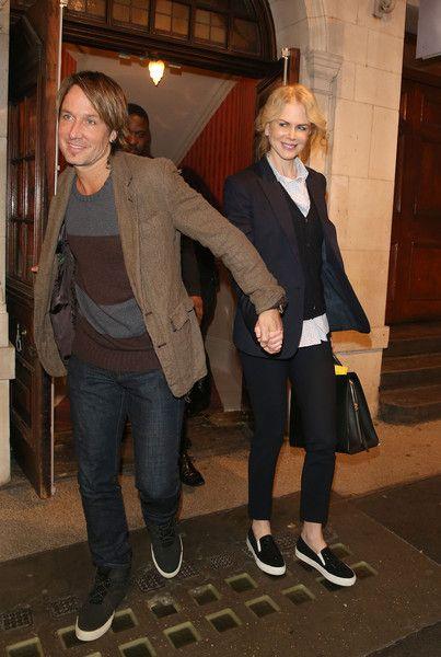 Keith Urban Photos: Nicole Kidman and Keith Urban Leave the Theater