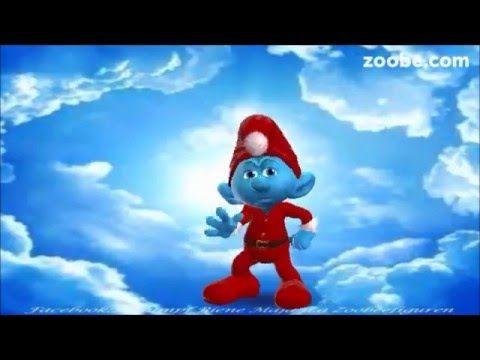 Weihnachten - Liebe, ist das schönste Geschenk Frohes Fest Advent, Schlumpf, Zoobe Animation - YouTube