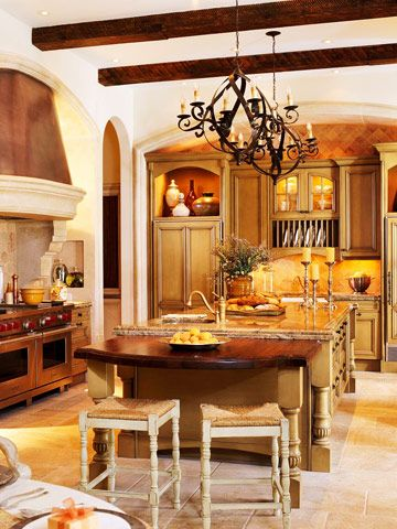 Tuscan...Someday when I have more money, I can save for a new kitchen! ...Need to save for my Disney World trip and a new roof for my house first! :-)