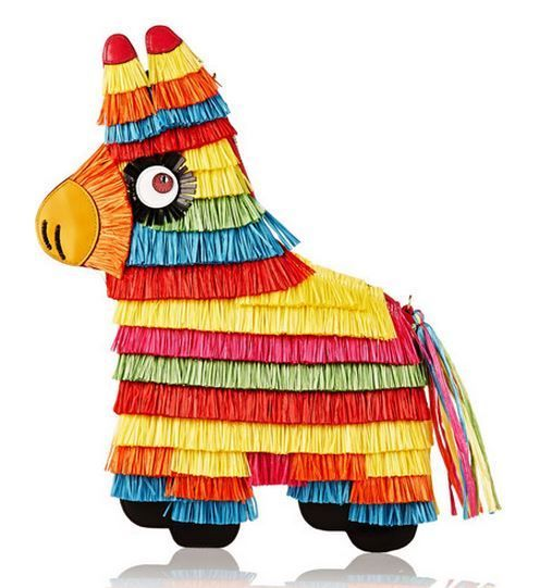 Charlotte Olympia's Pinata Bag Pays Homage to South American Traditions #fringe trendhunter.com