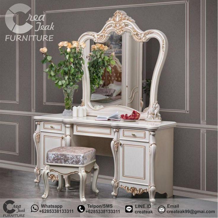 Kamar Set Ukir Terbaru Spalnya Bedroom Set Mewah Furniture Jepara Createak Furniture Ide Dekorasi Rumah Dekor Kamar Mewah Bedroom set with vanity