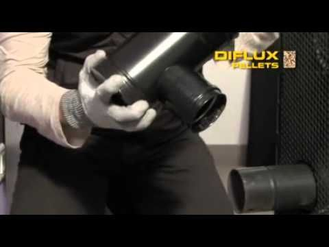(1) Diflux Pellets DINAK : le conduit de fumées concentrique pour les poêles à granulés de bois - YouTube