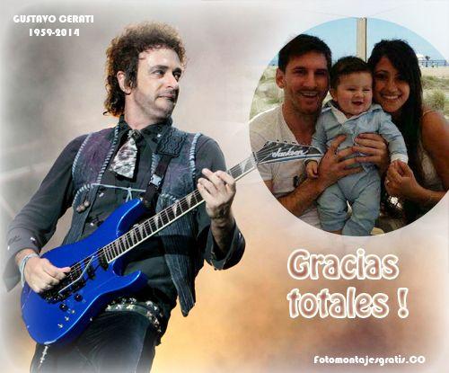 Fotomontaje recordando la vida de Gustavo Cerati !