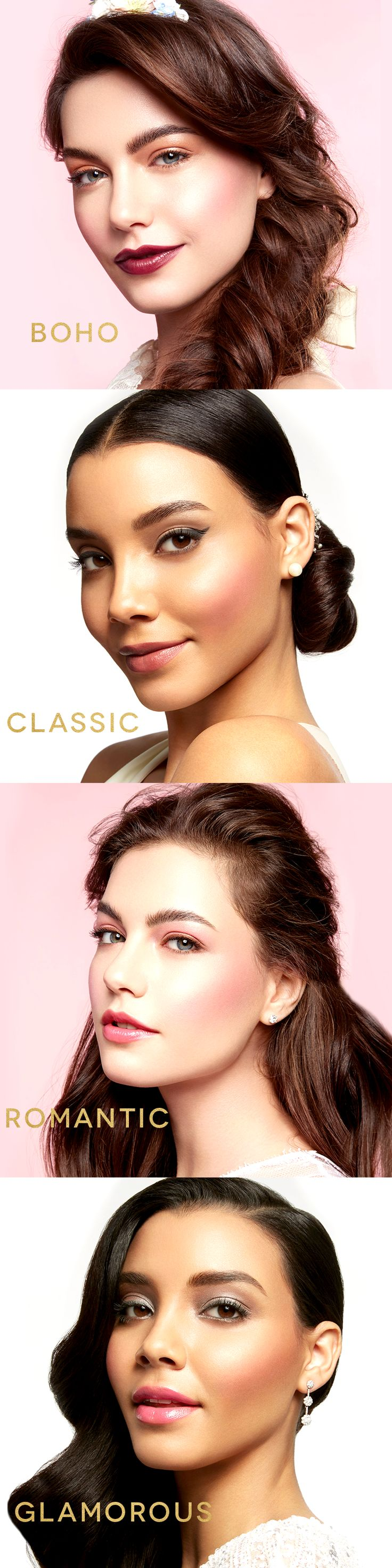 There's a gorgeous look for every bride. Click to find out how to get the look! | Mary Kay