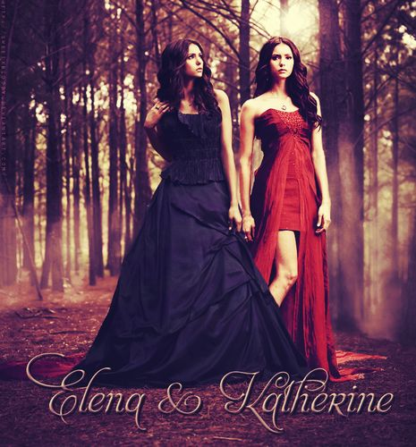 katherine pierce and elena gilbert meet