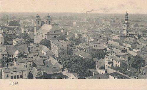 Lissa-Reichsgau-Wartheland-Ansichtskarte-geschrieben-1917