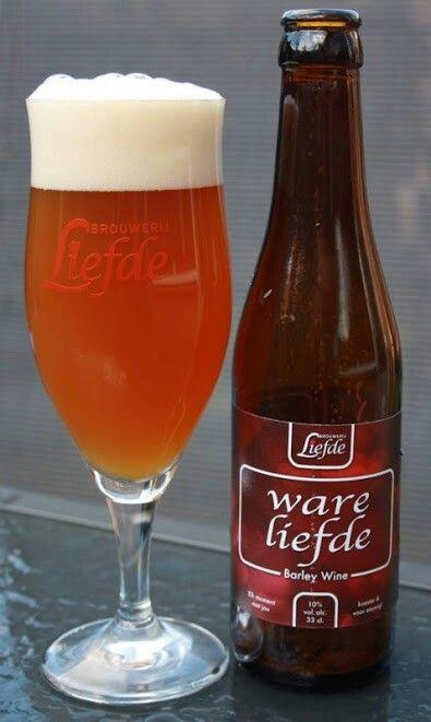 Brouwerij Liefde // Ware Liefde // 7/10 // Barley Wine @ de Bierprofessor Eindhoven