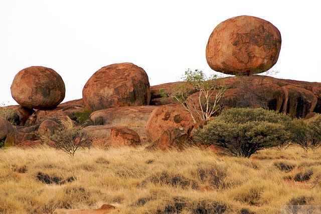 Devil's Marbles, Australia. Just north of Alice Springs.