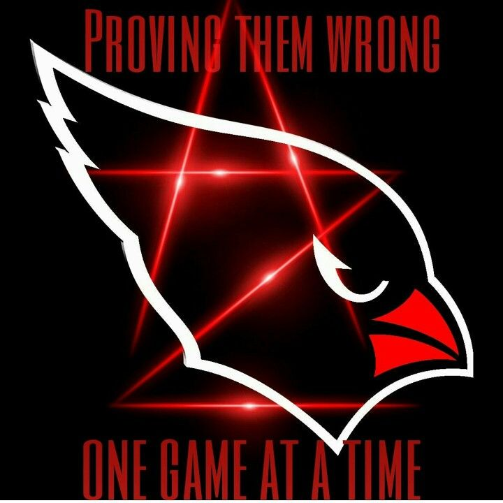 Proving them wrong one game at a time! Arizona Cardinals Football Club #NFL