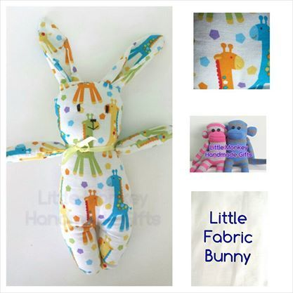 'Little Fabric Bunny' Anything Goes Market Night opens at 9pm, on Tuesday 20th May, 2014