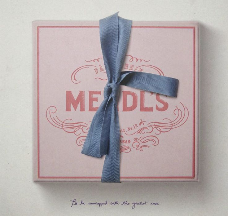 { Mendl's Patisserie, whose trademark pink boxes can often be found at The Grand Budapest Hotel. } Source: Akademie Zubrowka Historical Archives. Discover more about the Republic of Zubrowka at http://AkademieZubrowka.com/. Courses begin Jan 28!