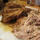 Pulled Pork med härliga kryddor och tomater