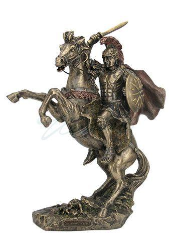 Alexander The Great On Horseback Sculpture