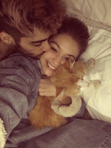 Zayn Malik & Gigi Hadid, They Are True Goals!  Much Love!  #Goals #Goals #Goals ❤
