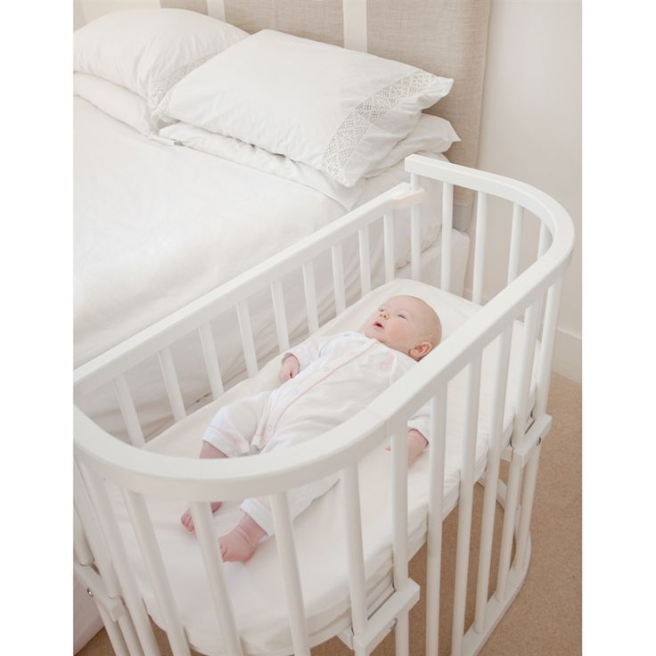 Babybay Bedside Cot, Mattress and Side Panel