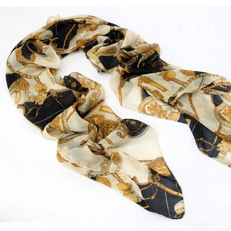 Animated Carriage Chain Scarf