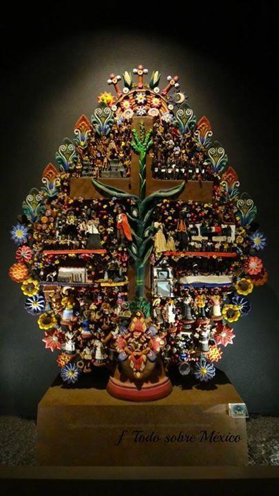 Mexican decor: Arbol del vida - the incredible Mexican tree of life. Stunning piece.