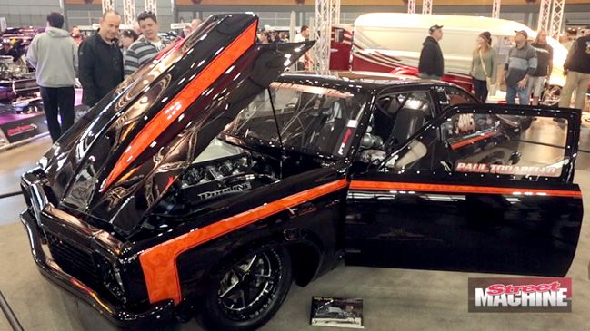 #RaceCars are being built increasingly to show-quality standard and Paul Todarello's #Torana LX hatchback is a perfect example of that.