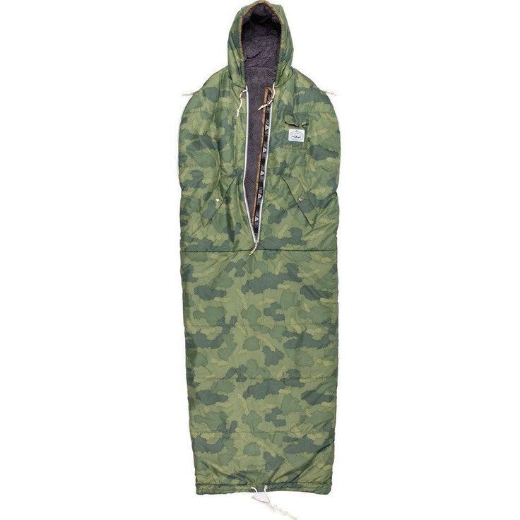 Shaggy Napsack | Wearable Sleeping Bag