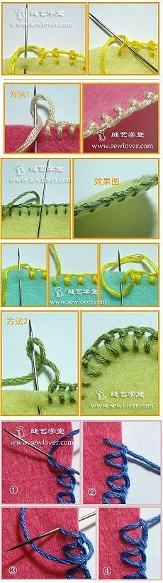 Обметочные швы | Лоскутное шитье. печворк, квилтинг | Форум | Вышиваем крестом