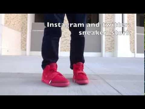 "Nike Air Yeezy 2 ""Red October"" -Review & On Foot Look - http://maxblog.com/3209/nike-air-yeezy-2-red-october-review-on-foot-look/"