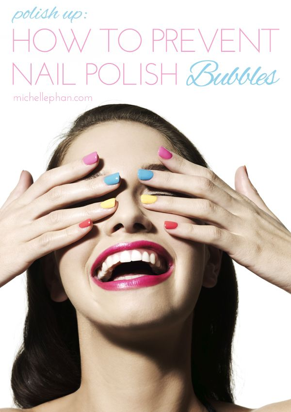 tips for preventing polish bubbles