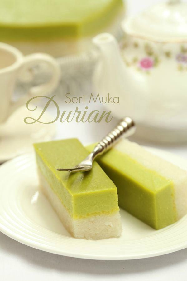 masam manis: Seri Muka Durian yang sangat sedap