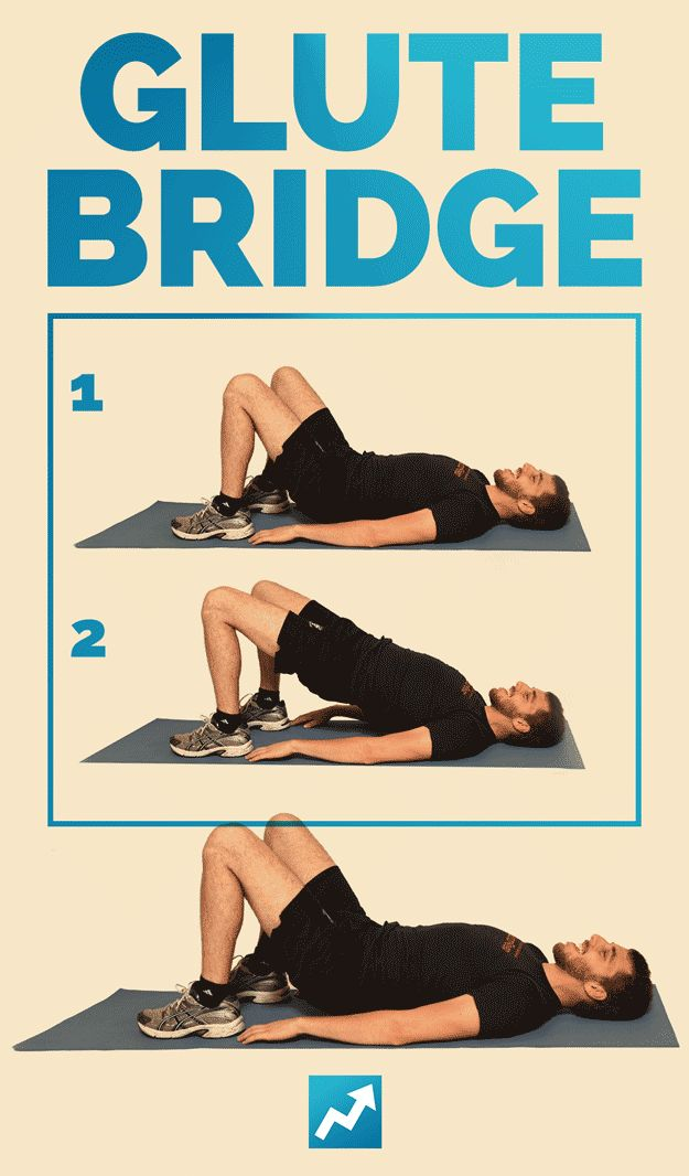 Glute Bridge | The Only 12 Exercises You Need To Get In Shape