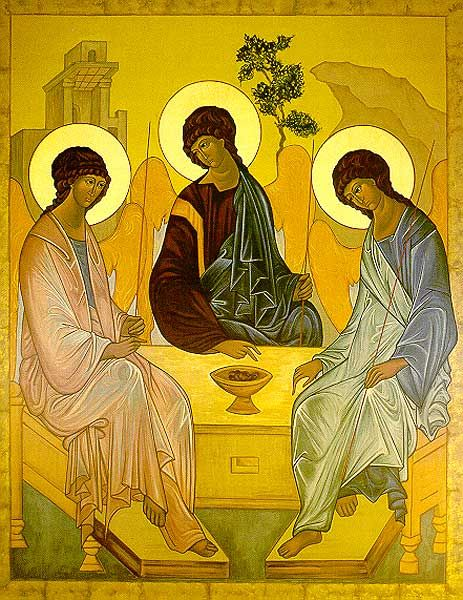 The Old Testament Trinity - Icon Reproduction