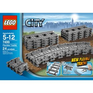 LEGO City Flexible Tracks Set
