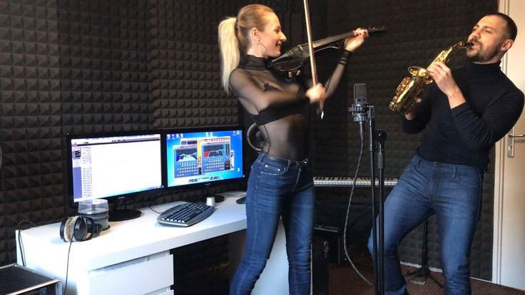"Amadeea Violin & Veran Zorila-""Dive""-Salvatore Ganacci(cover-Alex Cooper..."