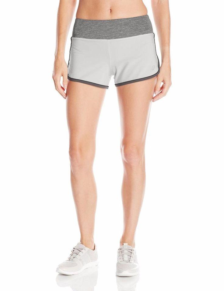 NWT Women's ASICS Everysport Running Shorts Athletic Fitness Soothing Sea WS2798 #ASICS #Shorts