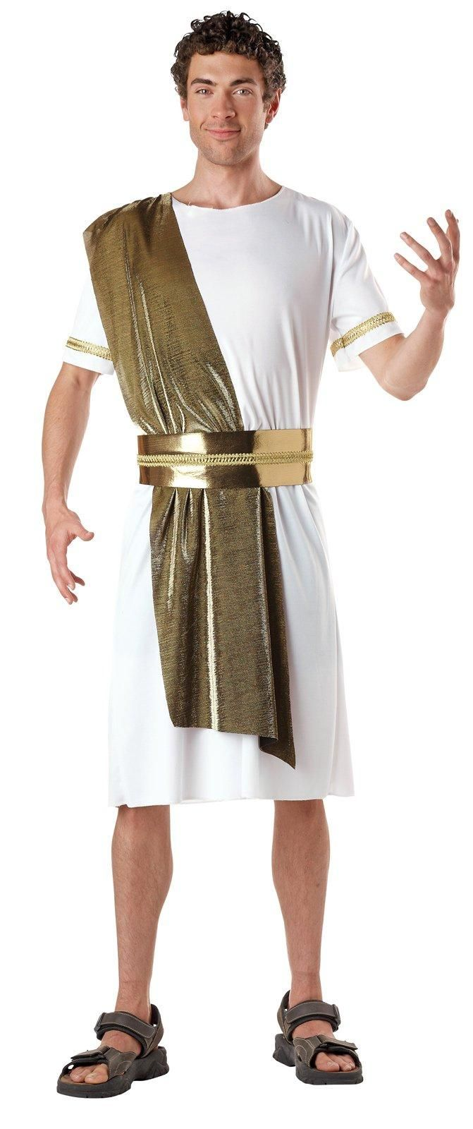 how to make an egyptian costume out of a sheet