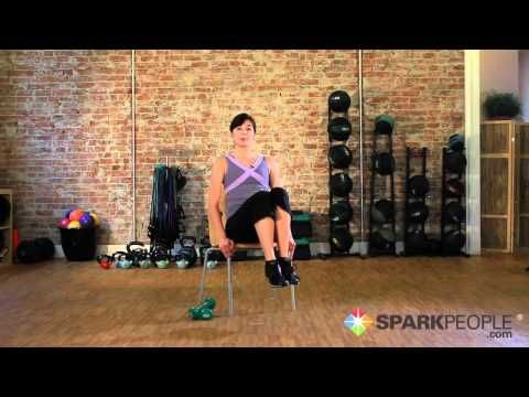 12-min video: Awesome abs exercises you can do at your desk chair. Try this at work!