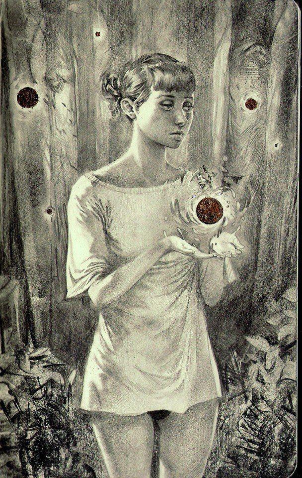 Miles Johnson dibujos surrealistas y arte conceptual