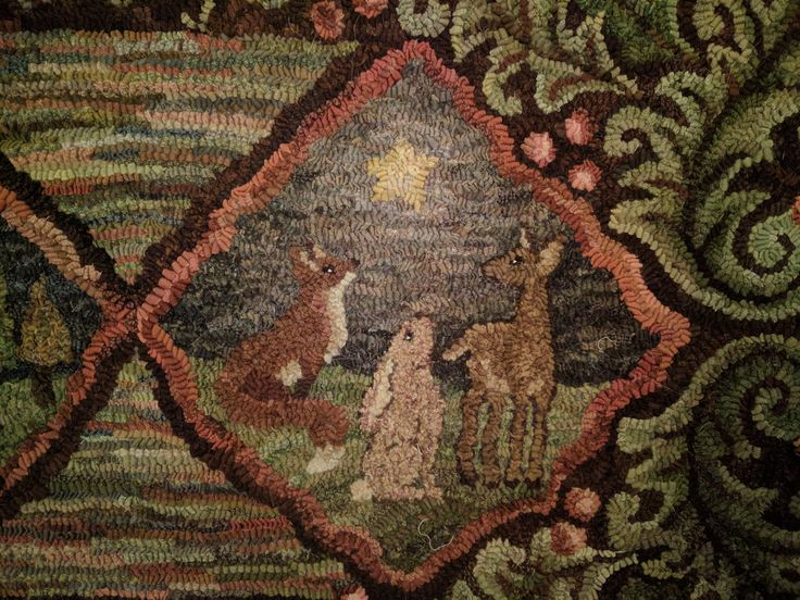 Detail from Holy Night Lin's Primitive by Design