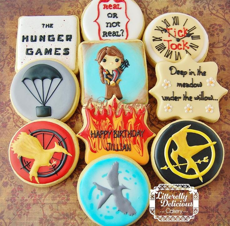 The Hunger Game cookies | Cookie Connection