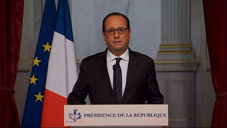 Attentats à Paris : Hollande décrète l'état d'urgence sur l'ensemble du territoire