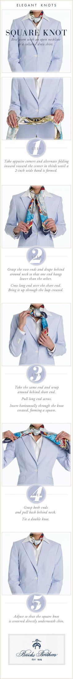 The Square Knot | Brooks Brothers
