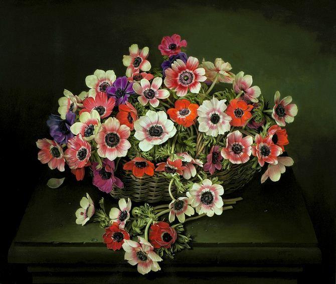 Цветы от Jose Escofet. Живопись маслом