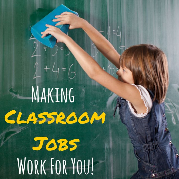 Using Classroom Job Applications to make classroom jobs work for you