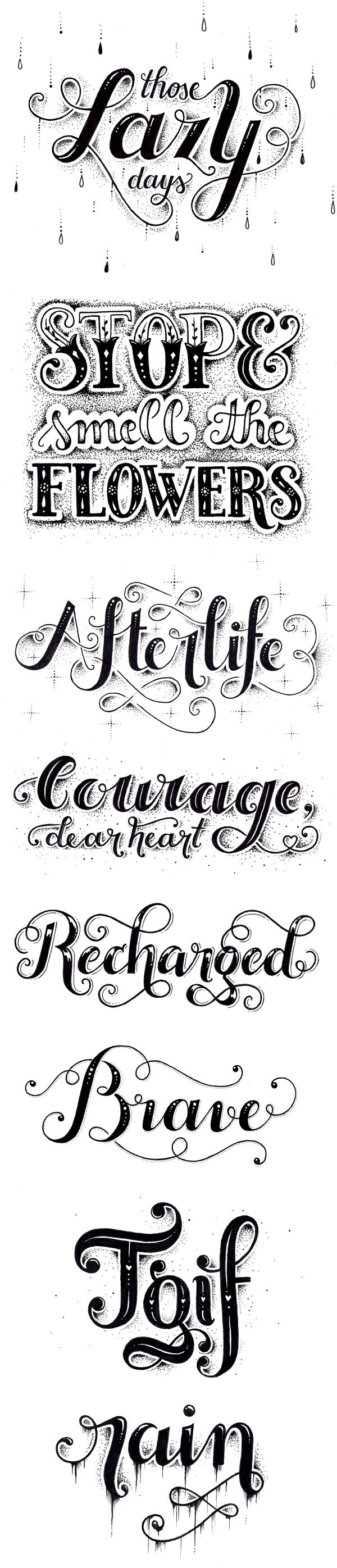Best Hand Lettering Images On   Handwriting Fonts