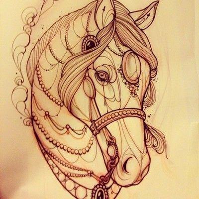 Um dia eu sonhei com um cavalo.
