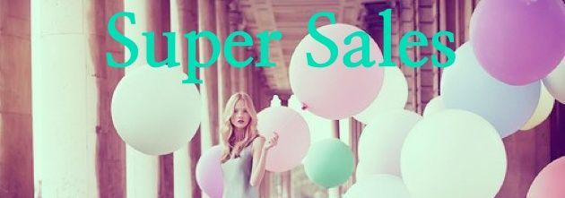 Fashion: Super Sales! ~ Becca Benson