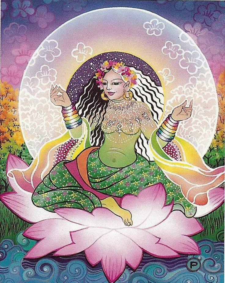 Image result for flowering osho tarot