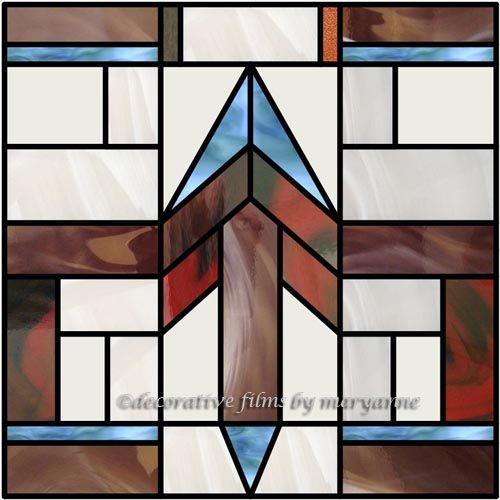 Southwestern Geometric 3 Decorative Window Film