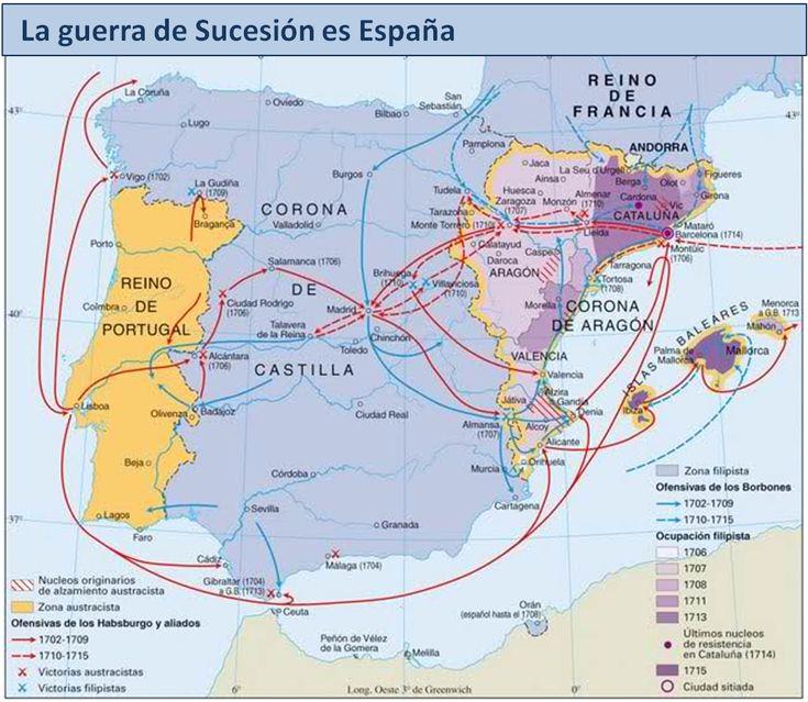 LA HISTORIA A TRAVÉS DEL ARTE. EN TIEMPOS DE FELIPE V. LA GUERRA DE SUCESIÓN