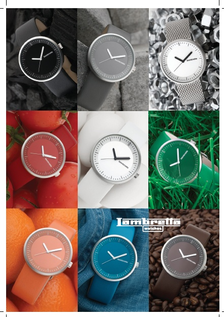 Relojes Lambretta  Colección Franco Un reloj para cada ocasión  http://www.tutunca.es/lambretta
