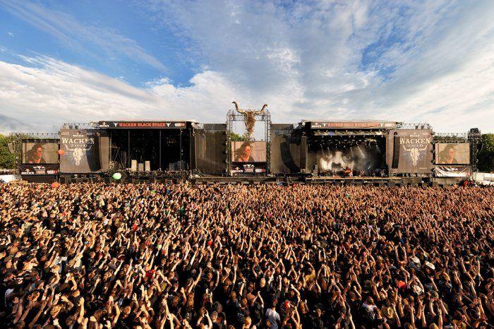 """""""Wacken"""": Jovem morre asfixiado no maior festival de metal do mundo"""
