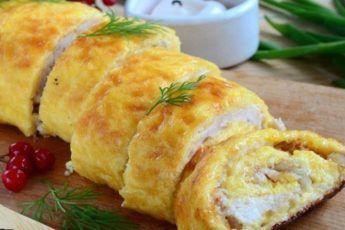 Вкуснейший куриный рулет. Съели до последнего кусочка - Jemchyjinka.ru
